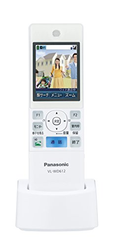 Panasonic ワイヤレスモニター子機 VL-WD612