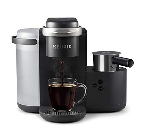 Keurig K-Café Coffee, Latte, Cappuccino Maker, Charcoal Grey