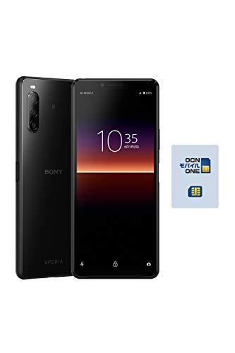 【OCN モバイル ONE専用】SONY Xperia 10 II ブラック ※音声契約必須