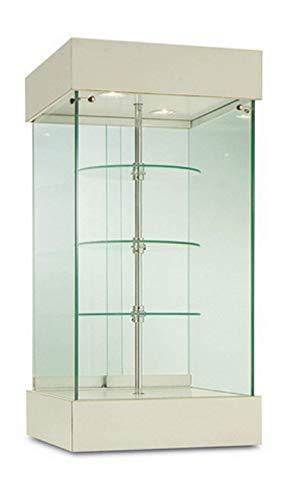 Vitrina G-Q Mostrador, coleccionismo, gabinetes, Vitrina giratoria, expositora
