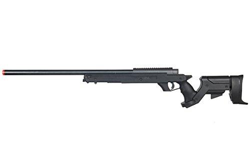 Well Full Metal MBG22 Gas Sniper Rifle Airsoft Gun (Black)