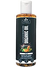 Tyaga Organic Hair Oil for hair growth Ultra blend of 20 h