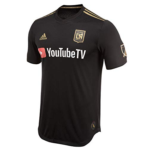 adidas Men's Los Angeles FC Primary Authentic Jersey 2XL