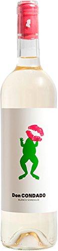 Vino Blanco Semidulce DON CONDADO - D.O. Condado de Huelva - Variedad Zalema 100% - 1 botella de 0,75 CL