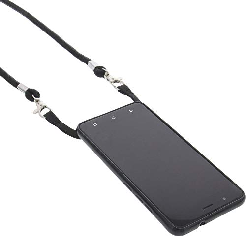 foto-kontor Hülle kompatibel mit Gigaset GS270 / GS270 Plus Umhängetasche TPU Schutz Tasche schwarz