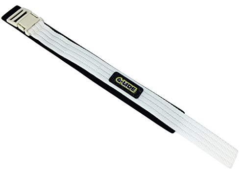 Casio Correa de velcro para reloj de pulsera, 23 mm, color blanco