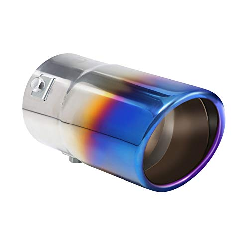 Exhaust tip - to Fit 1.75 to 2.5 Inch Exhaust Tail Pipe Diameter-...
