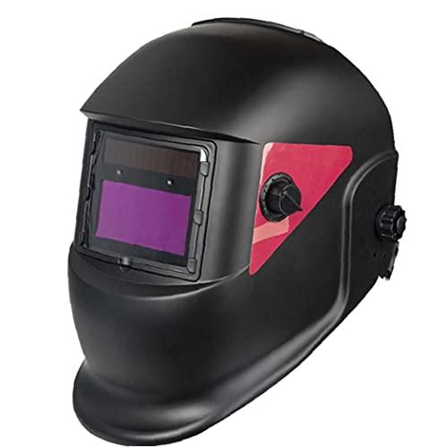Casco de soldadura Auto oscurecimiento con capucha solar Powered MIG TIG ARC Soldador de seguridad Accesorios de seguridad Manual Juego de herramientas