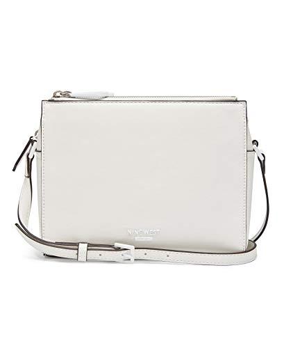 Nine West Women's Cecylia Filipa A-List Mini Crossbody Cross Body Bag White Size: Medium