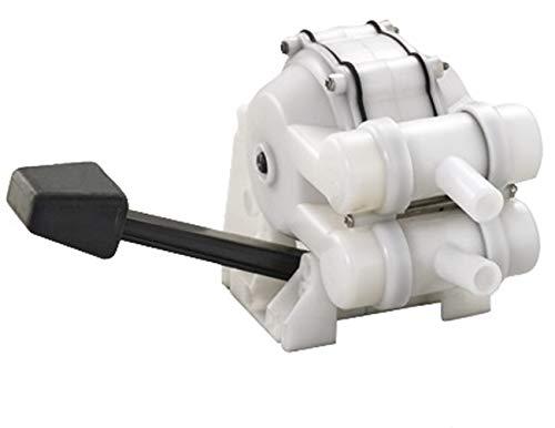 Osculati Fußpumpe für Spülbecken mit doppelter Wirkungsweise