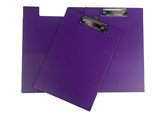 Janrax A4 Purple PVC Foldover Clipboard