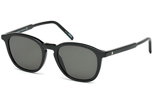 Gafas de sol Montblanc MB592S C50 01A (shiny black / smoke)