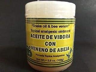 Pomada Tópica Analgésica Aceite de Vibora Con veneno de Abeja/Topical anaglseic Ointment 3-