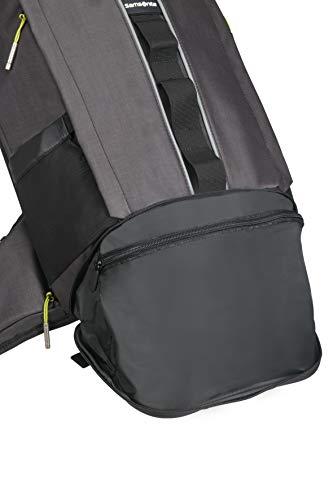 Samsonite 2WM - Laptop Rucksack M 15.6 Zoll - Roll Top, 64 cm, 20 L, schwarz (Black)