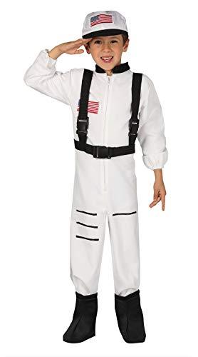 FIESTAS GUIRCA Disfraz Astronauta de la NASA Infantil Talla 5-6 años