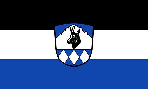 Unbekannt magFlags Tisch-Fahne/Tisch-Flagge: Bayrischzell 15x25cm inkl. Tisch-Ständer