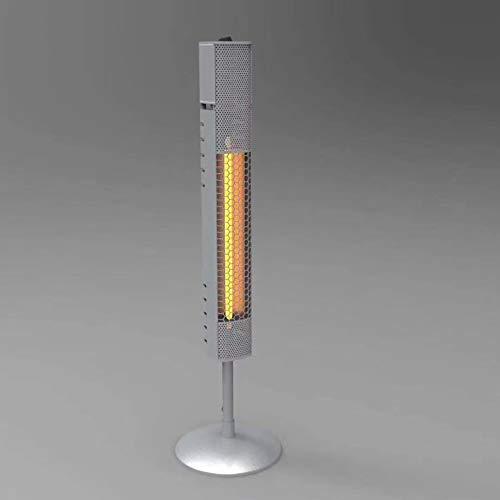 WANGT Calentador eléctrico de pie, Calentador de Infrarrojos de Carbono 800w Calentador de Patio Interior/Exterior para el hogar para el hogar