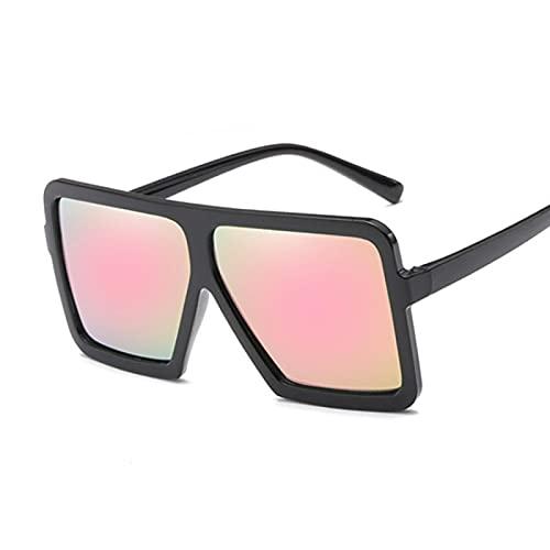 ShZyywrl Gafas De Sol De Moda Unisex Gafas De Sol Cuadradas De Moda Mujer Hombre/Mujer Gafas De Sol Negras Hombre Mujer Clásico Vintage Exterior Blackpink