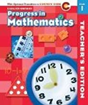 Progress in Mathematics, Teacher's Edition with Optional Transition to Common Core: ©2012: A roadmap for implementing a seamless instructional Common Core path (Garde 1)