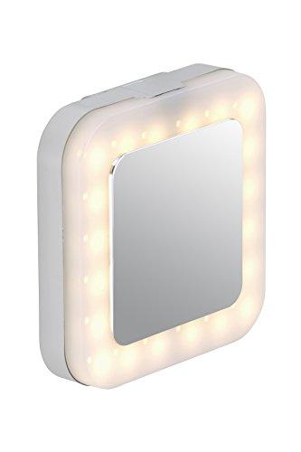 Briloner Leuchten LED Spiegelleuchte, Badlampe, Badleuchte, LED Platine, 1 x 4,5 Watt, 450 Lumen, chrom 2295-018