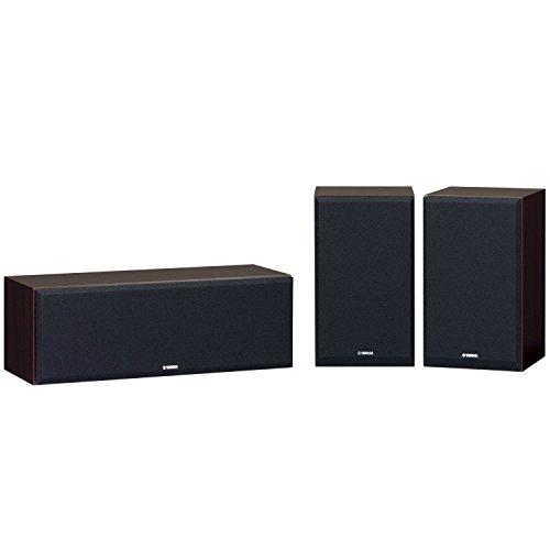 ヤマハ スピーカーパッケージ ハイレゾ音源対応 (3台1組) ウォルナット NS-P350(MB)