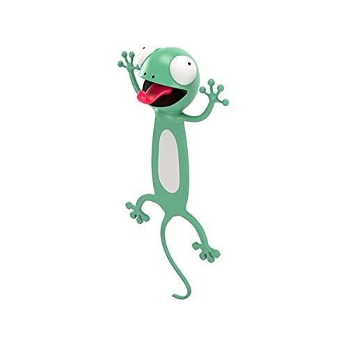 3D Tier Lesezeichen, Lustige 3D Cartoon Tier Lesezeichen für mehr Spaß beim Lesen, Animal Bookmark für Kinder, Junge, Leseliebhaber, Partys, Lustiges Geschenk für Kinder