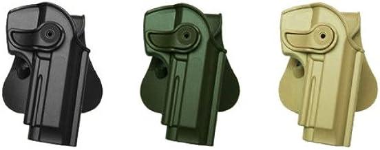 IMI RSR Defense polym/ère Retention Holster pour Glock 19//23//32/pour gaucher Noir