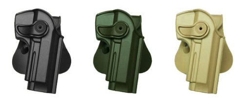 Pistola/pistola Concealed Carry mano pistola Retention Roto Holster Fits Beretta 92/96All in One funda. Desert Tan IMI RSR Defence Gun/funda de pistola