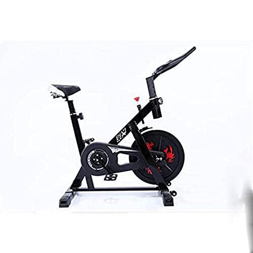 SAFGH Bicicleta estática Vertical para Interiores, Bicicleta silenciosa con Bicicleta de Carreras con Manillar y Asiento Ajustables, Bicicleta de Entrenamiento aeróbico, Cardio, Entrenador Ideal,