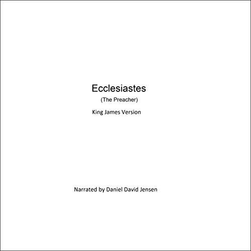 Ecclesiastes (The Preacher) audiobook cover art