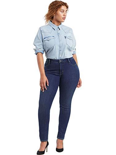 Levi's Plus Size Damen 314 Pl Shaping Straight Jeans, London Rivers Plus, 22 S