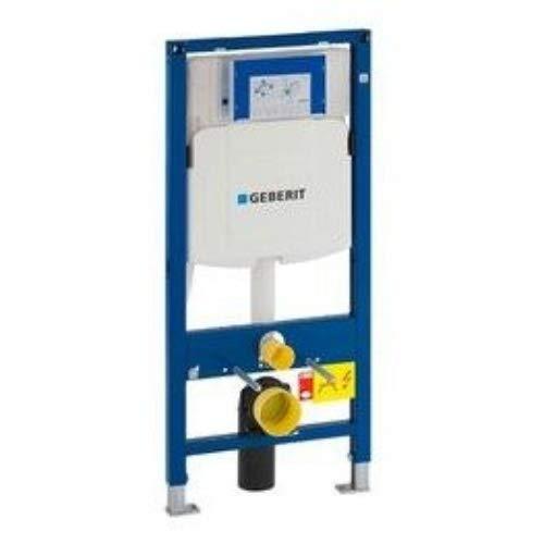 Geberit Duofix Wand-WC-Montageelement für Wand-WC, 112cm, mit eingebautem Spülkasten Sigma 12cm, PVC-Ablaufbogen (111.374.00.5)