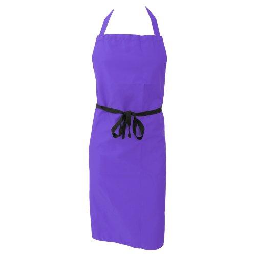 Dennys Unisex Küchenschürze (ohne Taschen) / Küchen Arbeitskleidung (One Size) (Lila)