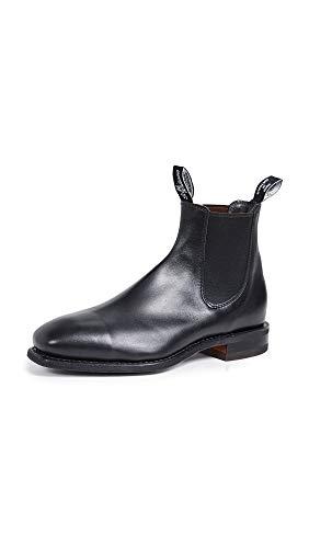 R.M. Williams Men's Comfort RM Leather Chelsea Boots, Black, 10 Medium US