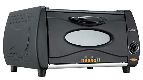 Naanoo Mini Tandoor Ofen für Pizza Chapati Roti Lahmacun Manakish Naan Oven Tandoori