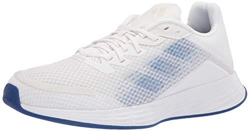adidas Women's Duramo SL Running Shoe, White/Screaming Pink/Dash Grey, 6.5