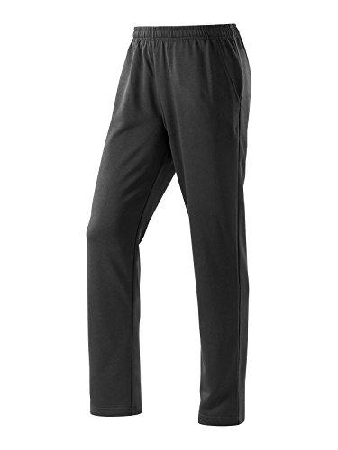 Joy Sportswear Trainingshose NICO für Herren | atmungsaktive Sporthose | Freizeit- & Funktionshose mit Reißverschluss | Komfortbund und gerade geschnittenes Bein W27, Länge Normalgröße, Black
