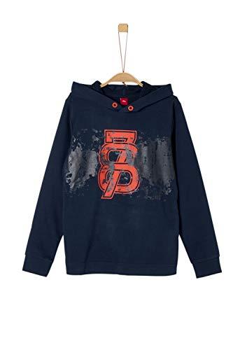 s.Oliver Jungen 61.909.41.2763 Sweatshirt, Blau (Dark Blue 5952), 152 (Herstellergröße: M/REG)