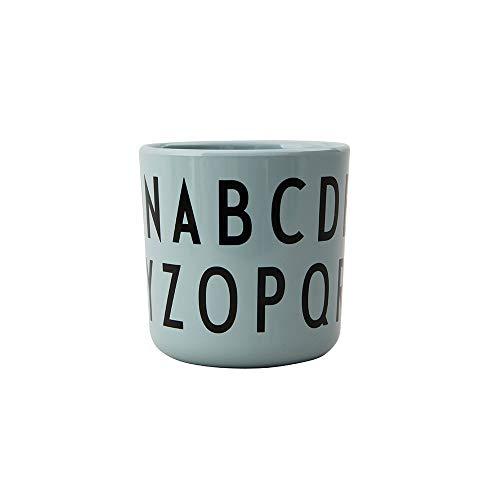 Design Letters Taza de melamina personalizado ABC para bebés y niños (Verde) - Taza multifuncional, sin BPA, sin BPS, accesorios disponibles por separado, 175 ml