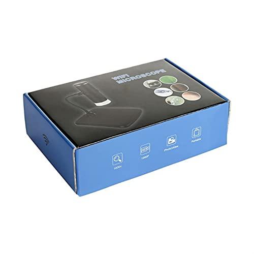 Liubiaonet Microscope numérique 1000X WIFI Microscope 2mp 1080P Microscopes Smartphone 449C (Magnification : 1000X)