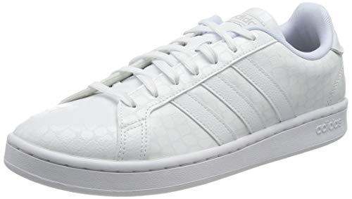 adidas Grand Court, Zapatillas de Tenis Mujer, FTWBLA/FTWBLA/Gridos, 39 1/3 EU