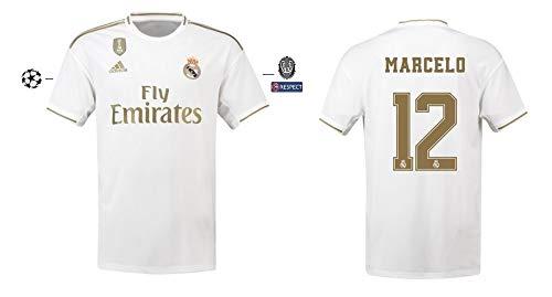 Real Madrid Trikot Herren 2019-2020 Home UCL - Marcelo 12 (XL)