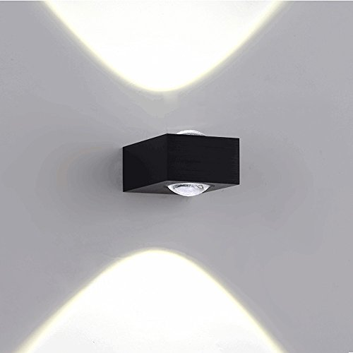 Slaapkamer Armaturen LED Aluminium Wandlamp Postmoderne Simple Lighting Slaapkamer Nachtlampjes Aisle Hotel Room Showroom wandlamp W Wandlamp Verlichting (Color : A)