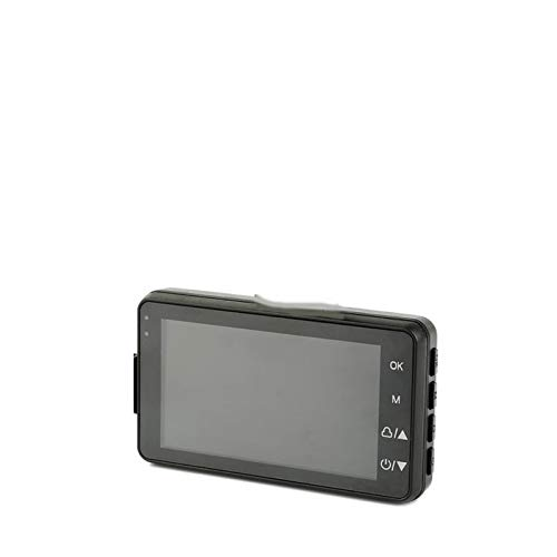 N&F Cámara de acción Impermeable Cámara de acción con Kit de Accesorios de Montaje Detección de Movimiento con Pantalla táctil WiFi Dash CAM para Coche