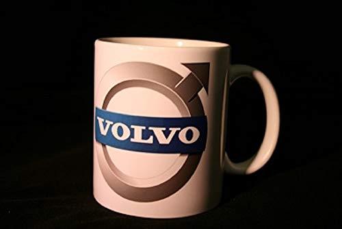 Schilderfeuerwehr Kaffeetasse Tasse mit LKW/Truck Logos und Texten/Sprüche (Volvo)