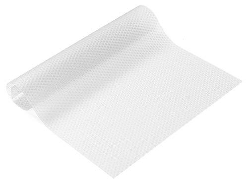 None/Brand CYJZHEU 8 Stück Frischhaltematte Kühlschrank, rutschfeste Kühlschrankmatten Schubladenmatte Zuschneidbar Waschbare DIY Tischsets für Küchenschrank Kühlschrank Tischmatte (Transparent Weiß)