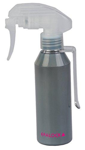 Efalock Professional Lot de 2 flacons de pulvérisation Argent 130 ml