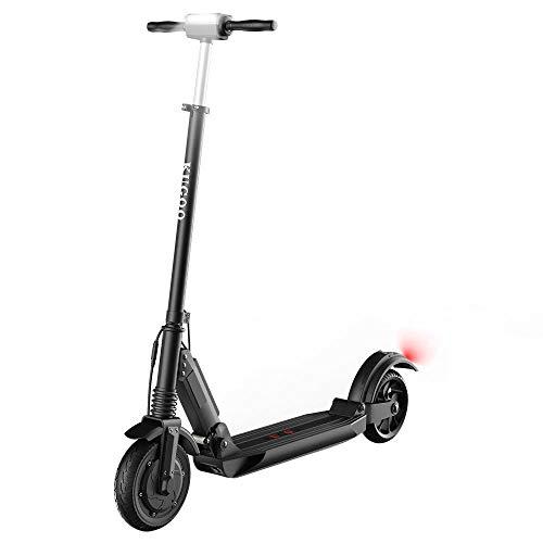Monopattino Elettrico Adulti Kugoo S1 350W Monopattini Elettrici Portatile 30 Km di Autonomia, 3 velocità Fino a 30 Km/h, Manubrio Pieghevole con Altezza Regolabile, Display a LED, Ruote 8'