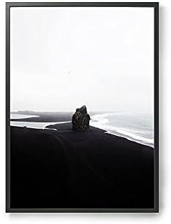 Coco Lapine ポスター/アートプリント 50×70cm Black Beach