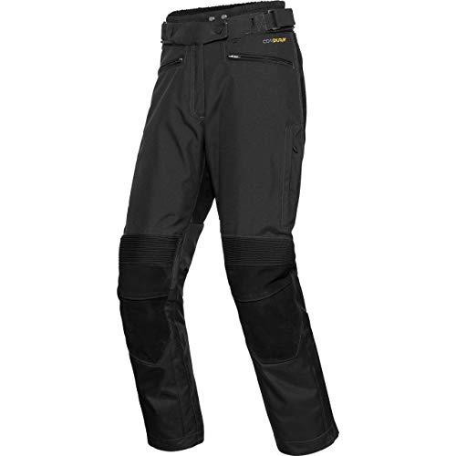 Reusch Motorradhose Roadmaster DL+ Damenhose schwarz XXL (lang), Tourer, Ganzjährig, Leder/Textil